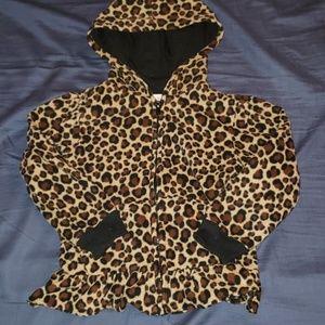 Cheetah fleece